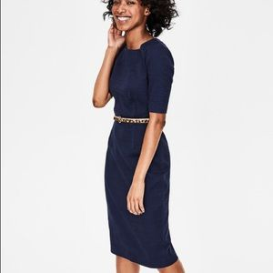 Boden fleur navy dress size 8 for office or work